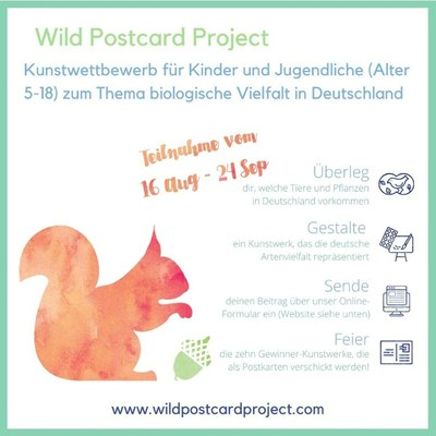 Poster for Wild Postcard Project